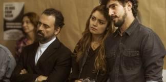 Os Dias Eram Assim - Renato e Alice no evento (Globo/Mauricio Fidalgo)