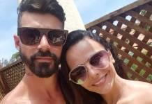 Radamés Martins e Viviane Araújo (Reprodução/Instagram)