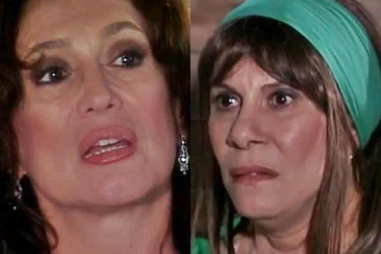 Senhora do Destino - Maria do Carmo e Nazaré (Reprodução/TV Globo)
