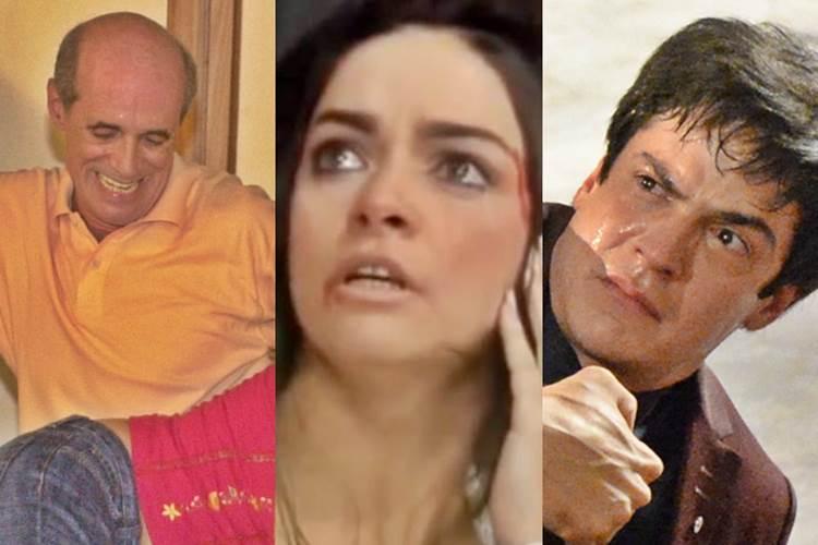 Surras em novela (TV Globo/Gianne Carvalho/Renato Rocha Miranda)