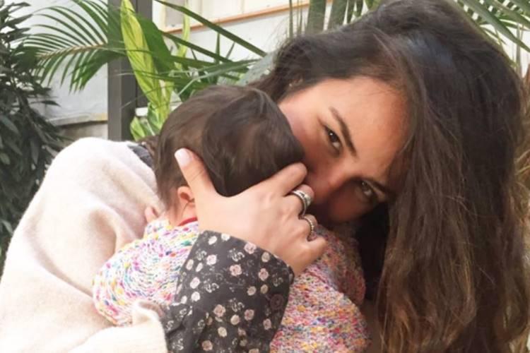 Yanna Lavigne promete doar enxoval da filha para seguidora