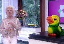 Ana Maria Braga e Louro José (Reprodução/TV Globo)