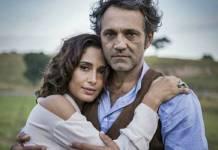 Camila Pitanga e Domingos Montagner (Reprodução/Tv Globo/Foto: Caiuá )Franco)