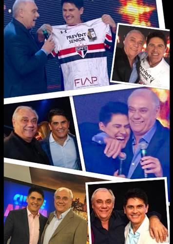 Cesar Filho e Marcelo Rezende/Instagram