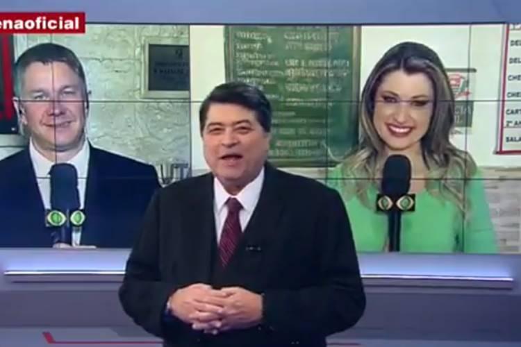 Dor de barriga tira Datena do ar durante programa ao vivo – Veja!