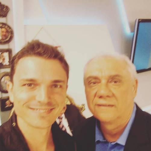 Diogo Esteves e Marcelo Rezende (Reprodução/Instagram)
