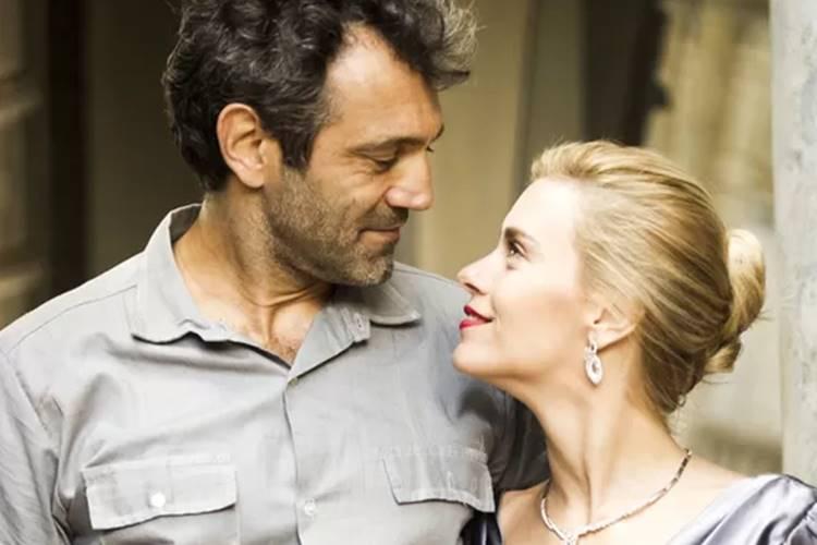 Domingos Montagner e Carolina Dieckmann (Reprodução/ TV Globo/ Foto: Joo Miguel Junior)