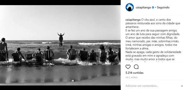 Instagram/Camila Pitanga