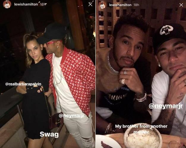 Instagram/ Lewis Hamilton