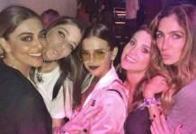 Juliana Paes, Luma Costa, Bruna Marquezine, Flávia Alessandra e Andrea Santa Rosa Garcia/Instagram