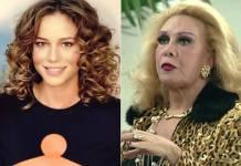 Leandra Leal e Rogéria (Reprodução/ Instagram e TV Globo)
