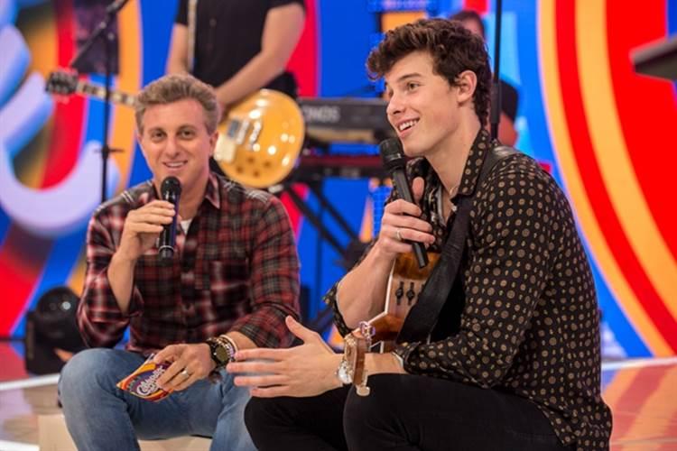 Caldeirão do Huck recebe o cantor internacional Shawn Mendes