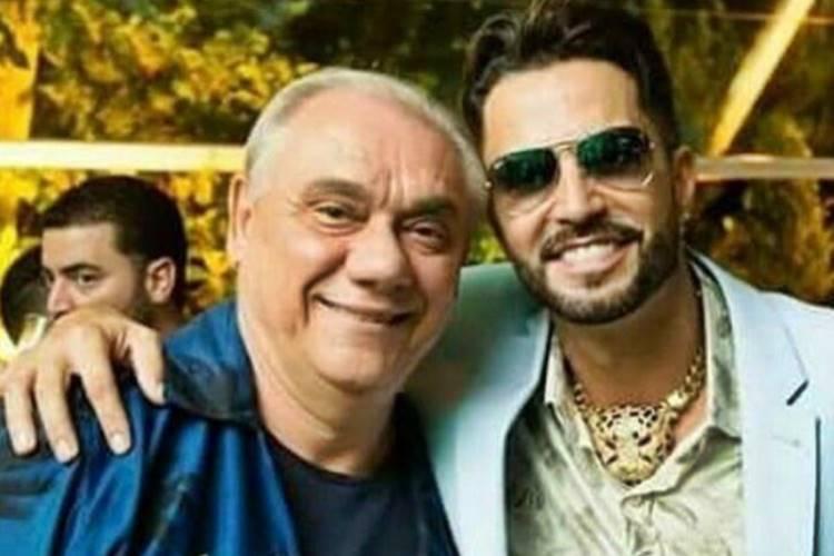 Marcelo Rezende e Latino (Reprodução/Instagram)