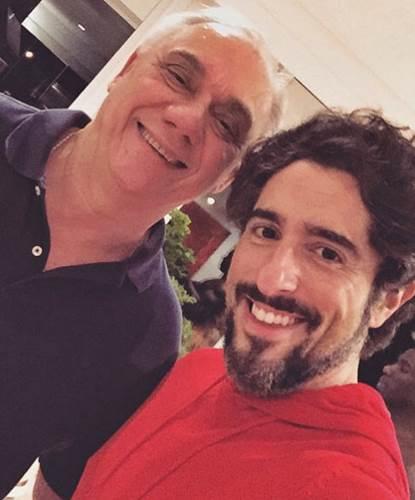 Marcelo Rezende e Marcos Mion/Instagram