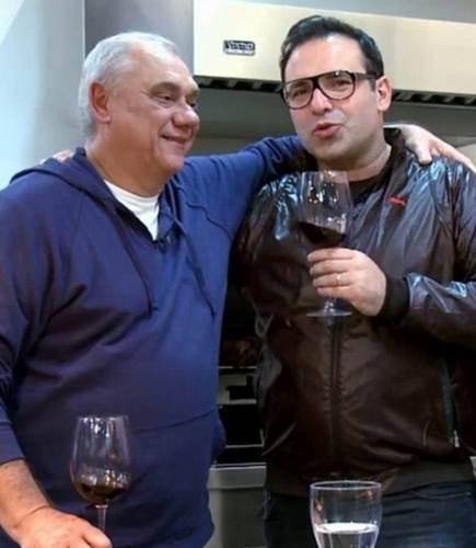 Marcelo Rezende e Reinaldo Gottino/Instagram