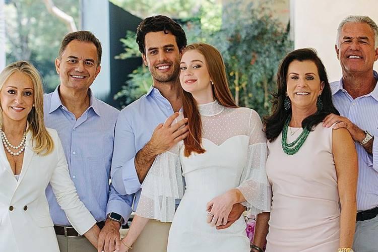 Marina Ruy Barbosa casou-se