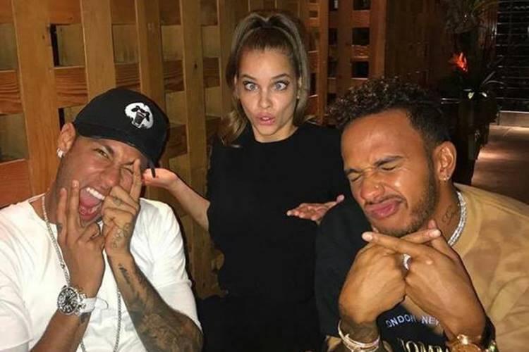 A brincadeira e cumplicidade de Sara Sampaio com Neymar