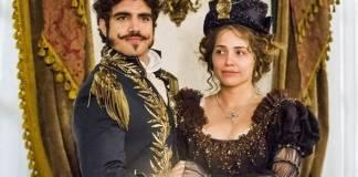 Novo Mundo - Dom Pedro e Leopoldina (Globo/João Miguel Júnior)