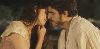 Novo Mundo - Domitila e Pedro (Reprodução/TV Globo)