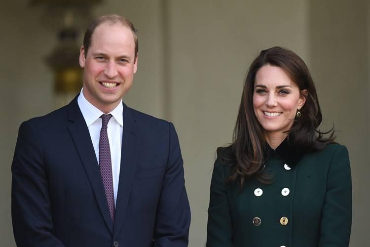 Príncipe William e Kate Middleton (Reprodução/Twitter/Kensington Palace)