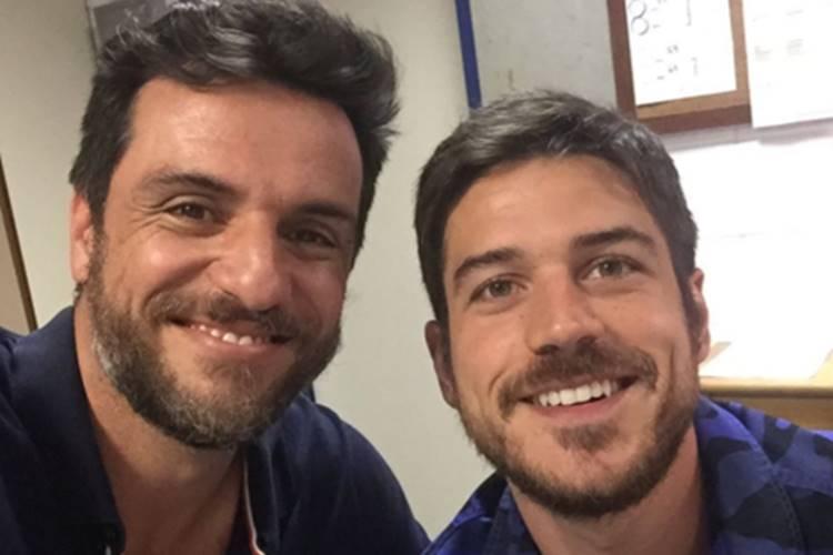 Rodrigo Lombardi e Marco Pigossi (Reprodução/Instagram)