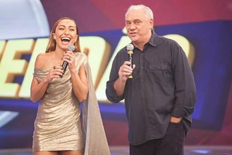 Sabrina Sato e Marcelo Rezende/Instagram