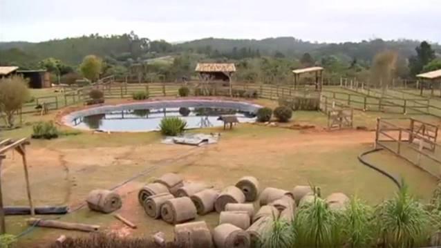 """Sede de """"A Fazenda- Nova Chance"""" (Reprodução/RecordTV)"""