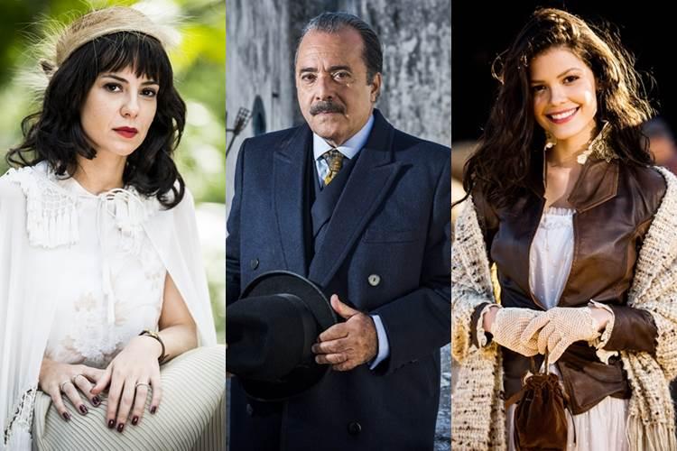 Tempo de Amar - Lucinda - José Augusto - Maria Vitória (Globo João Miguel Júnior)
