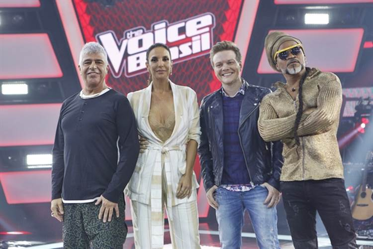 The Voice ( Globo/Fabio Rocha)