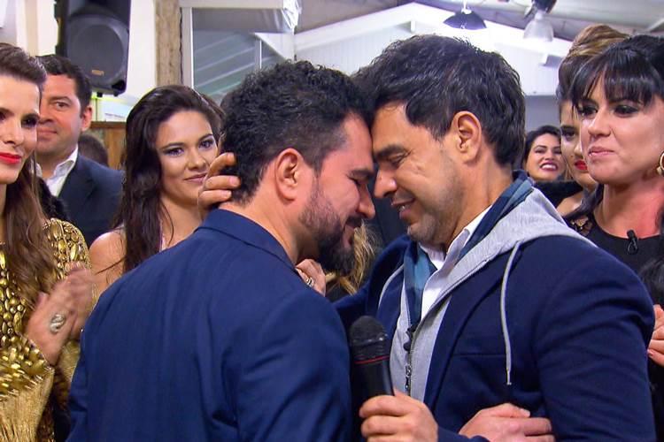 Zezé e Luciano (Divulgação/SBT)