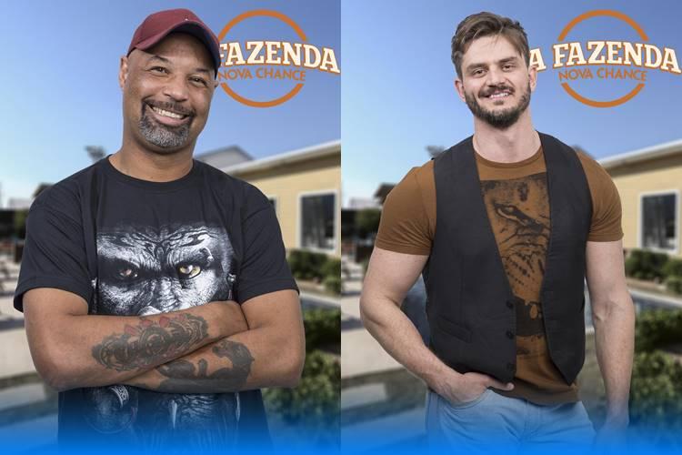 A Fazenda - Dinei e Marcos (Antonio Chahestian/Record TV)