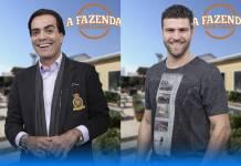 A Fazenda - Fabio e Marcelo (Antonio Chahestian/Record TV )