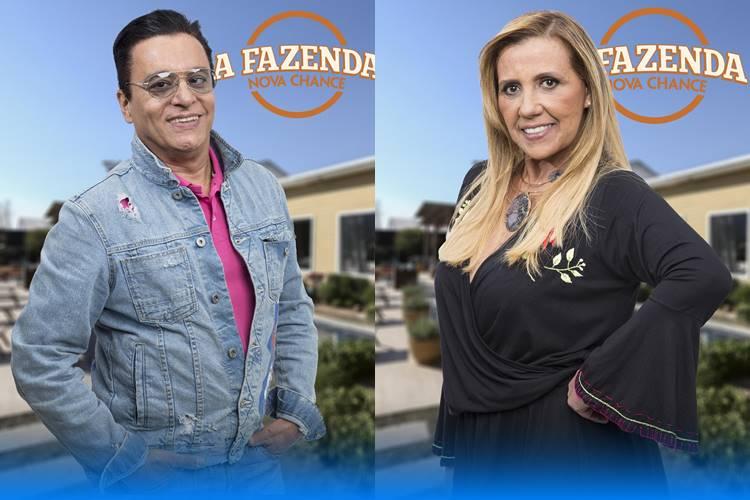 A Fazenda - Nahim e Rita (Antonio Chahestian/Record TV )