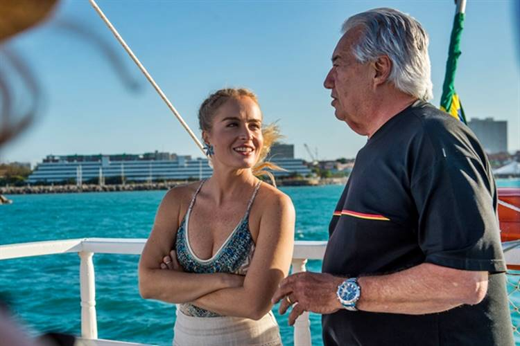 Angelica e Francisco José (Globo / João Cotta)