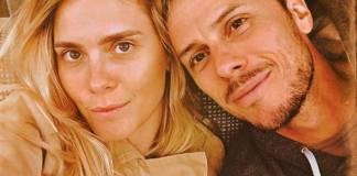 Carolina Dieckmann e Tiago Worcman (Reprodução/Instagram)