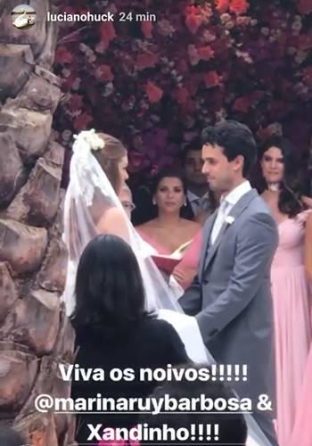 Casamento Marina e Xande/Instagram