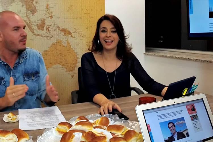 Catia Fonseca e Fabio Almeida