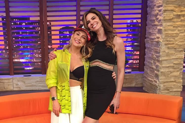 Claudia Leitte e Luciana Gimenez (Divulgação/RedeTV!)