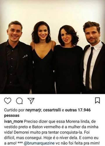 Curtida de Neymar (Publicação/Instagram)