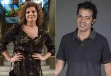 Débora Bloch e Bruno Mazzeo (Reprodução/ Gshow/ Foto:Estevam Avellar e Pedro Curi)