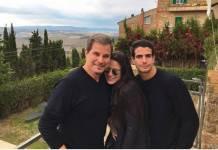 Edson Celulari, Sophia e Enzo ( Reprodução/Instagram)
