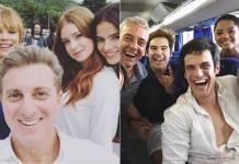 Elenco da Globo (Reprodução/Instagram)