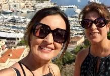 Fátima Bernardes e amiga (Reprodução/Instagram)