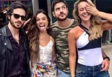 Fiuk, Isis Valverde, Marco Pigossi e Paolla Oliveira (Reprodução/Instagram)