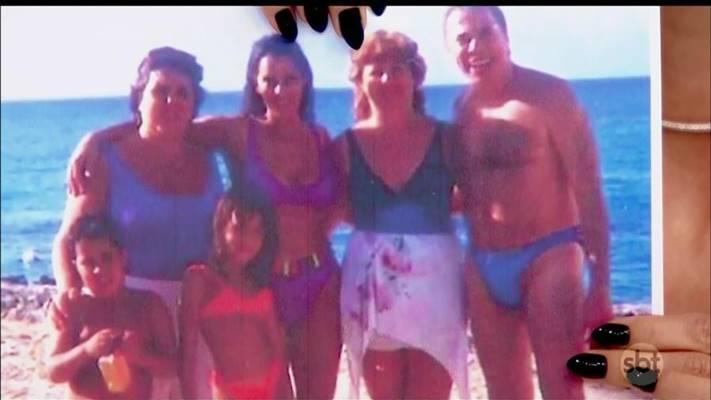 Silvio Santos e família (Reprodução/SBT)