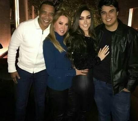 Marco Antonio, Zilu Godoi, Amabylle Eiroa e Iagor Camargo (Reprodução/Instagram)