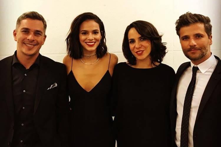 Ivan Moré, Bruna Marquezine, Mariana Moré e Bruno Gagliasso (Reprodução/Instagram)