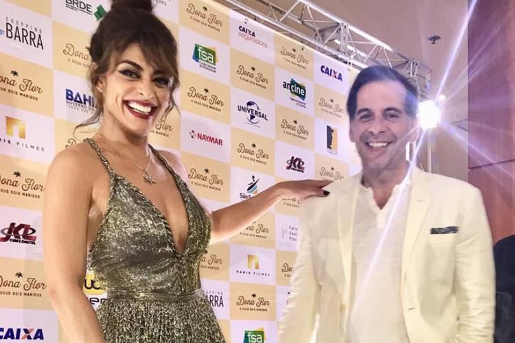 Juliana Paes e Leandro Hassum (Reprodução/Instagram)