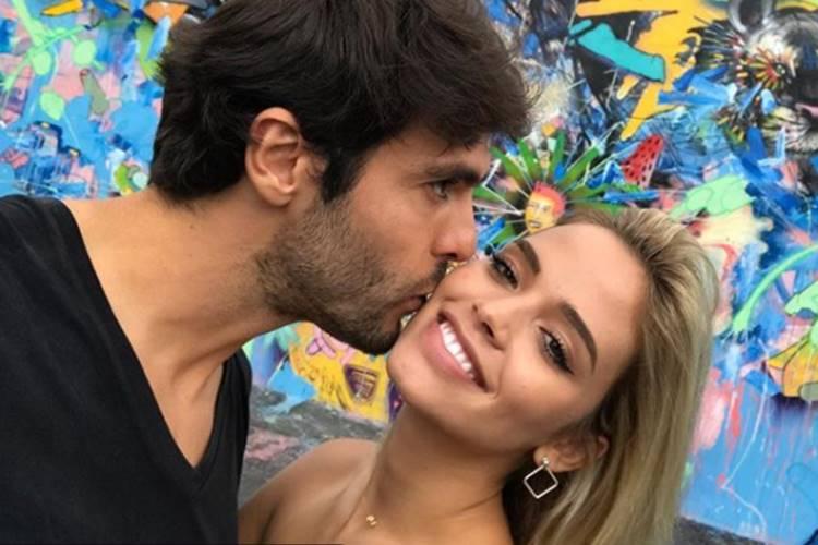Kaká e Carol Dias (Reprodução/Instagram)