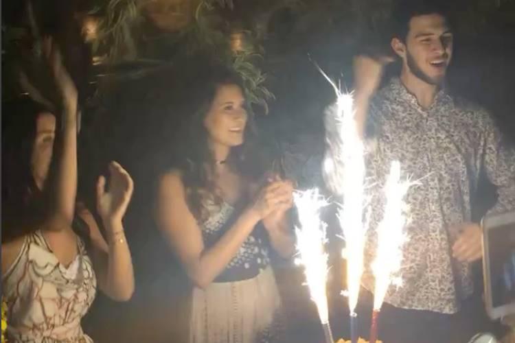 Laura, Beatriz e Vinicius (Reprodução/Instagram)